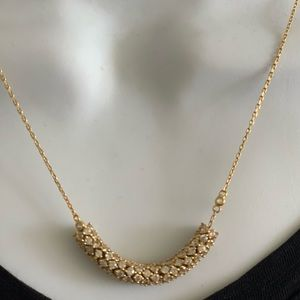 Henri Bandel gold necklace